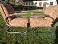 2 Stahlrohrsessel Model K411, 2 easy-chairs (2)