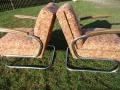 2 Stahlrohrsessel Model K411, 2 easy-chairs (3)