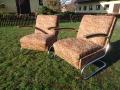 2 Stahlrohrsessel Model K411, 2 easy-chairs