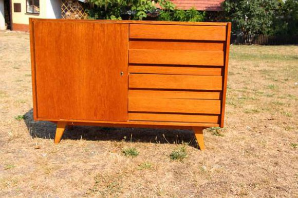 Sideboard designer jiri jiroutek interier praha for Vintage mobel sideboard
