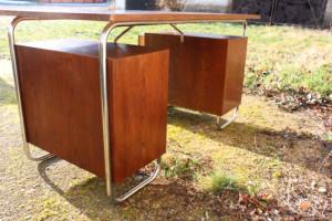 30er Jahre Stahlrohr Schreibtisch