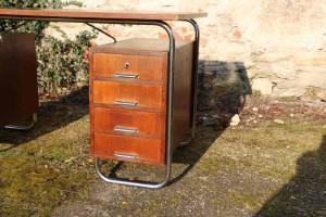 30er Jahre Stahlrohr Schreibtisch8