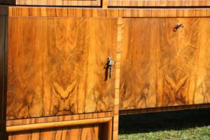 Bücherschrank Antik Möbel - Nussbaum 3