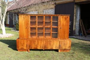 Bücherschrank Antik Möbel - Nussbaum