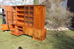 Bücherschrank Antik Möbel - Nussbaum 8