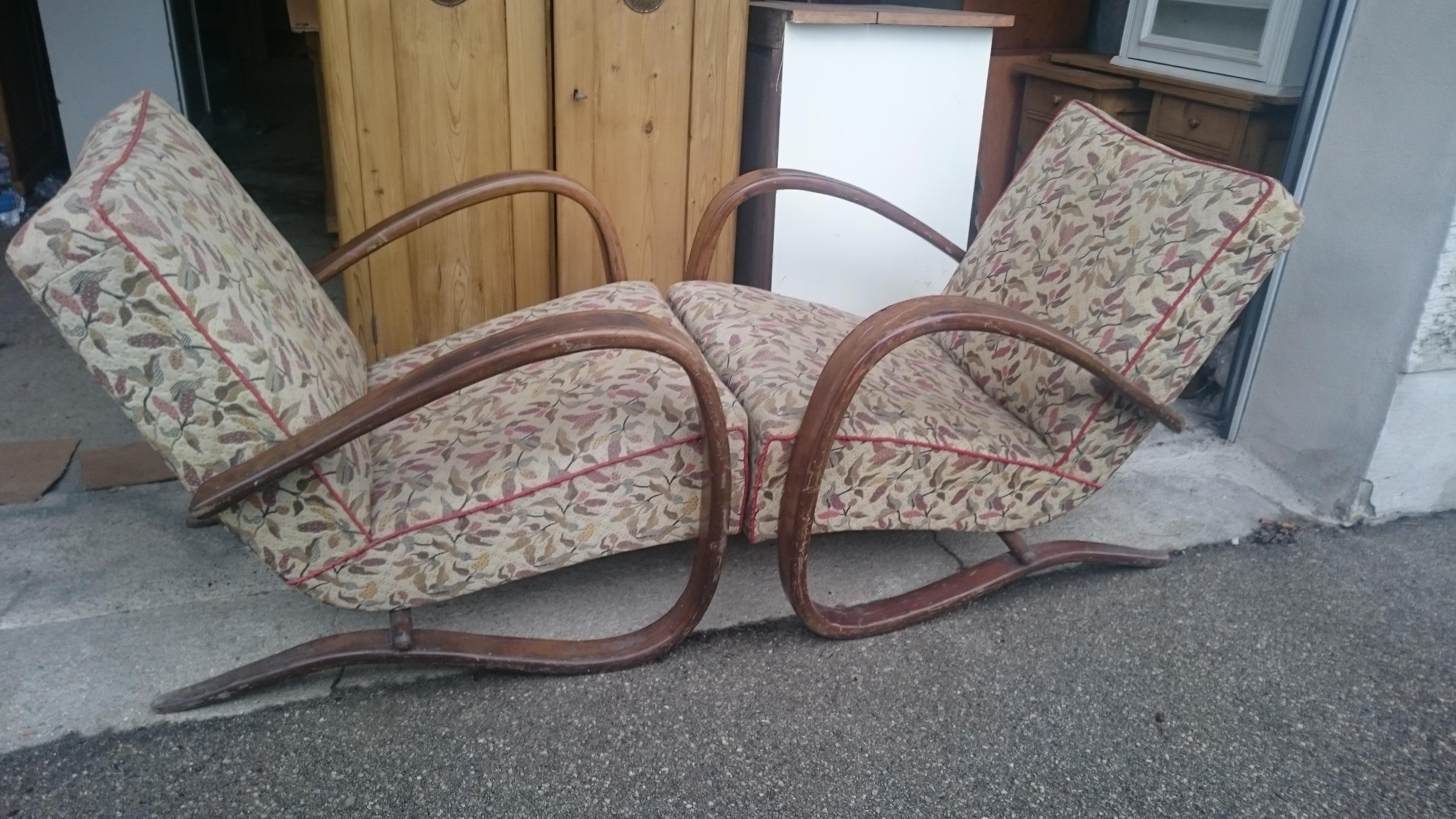 J Halabala H 269 Vintage Mobel Tschechisches Designermobel