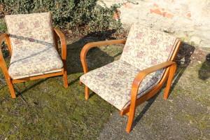 Zwei Sessel A. Kropacek & K. Kozelka Art Deco 23