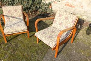 Zwei Sessel A. Kropacek & K. Kozelka Art Deco 232