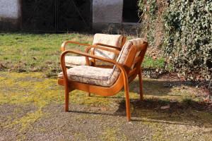 Zwei Sessel A. Kropacek & K. Kozelka Art Deco 234