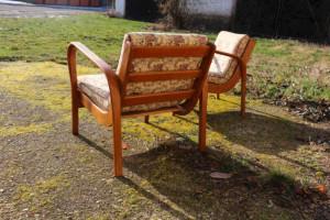 Zwei Sessel A. Kropacek & K. Kozelka Art Deco