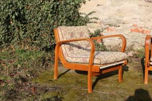 Zwei Sessel A. Kropacek & K. Kozelka Art Deco1