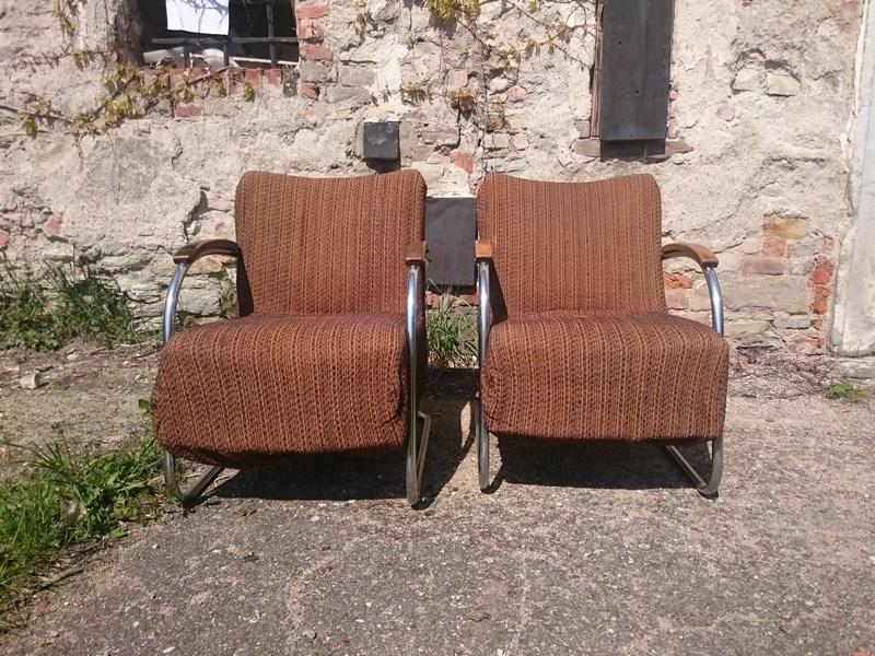 Stahlrohr Sessel stahlrohrsessel mücke melder vintage möbel antik zone at