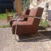 2 Stahlrohrsessel  Mücke Melder  Vintage Retro