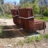 2 Stahlrohrsessel  Mücke Melder  Vintage Retro (6)