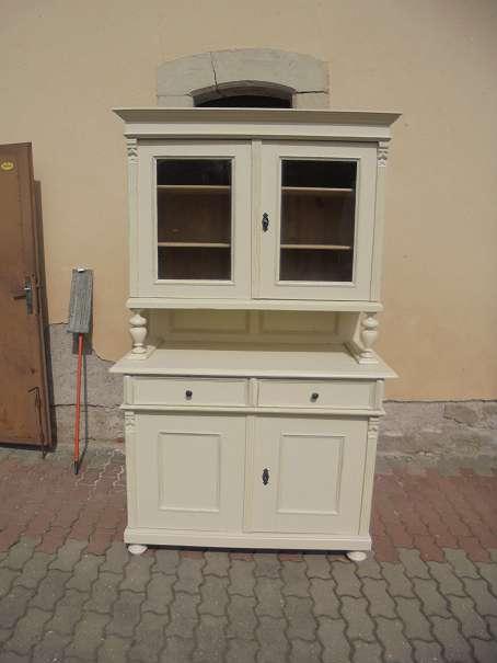 antike kredenz shabby chic landhausm bel antik. Black Bedroom Furniture Sets. Home Design Ideas