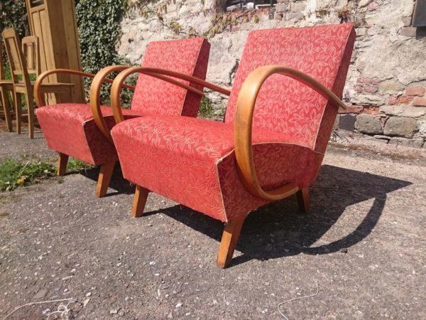 J. Halabala Sessel  Halabala´s armchairs  Vintage Design (5)
