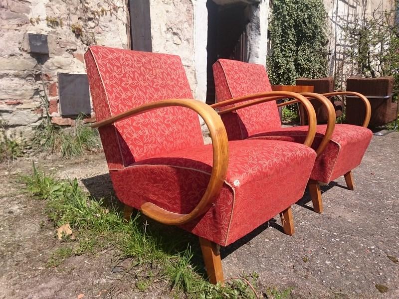 J halabala sessel halabala s armchairs vintage design for Sessel industrial