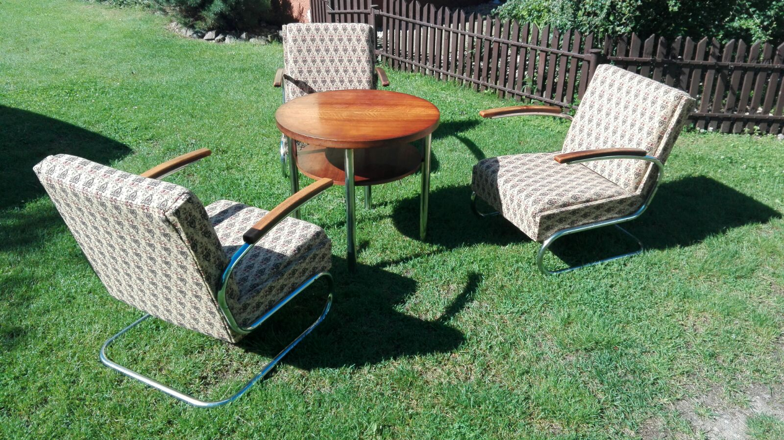 Stahlrohr Sessel stahlrohrsessel model k411 easy chairs freischwinger