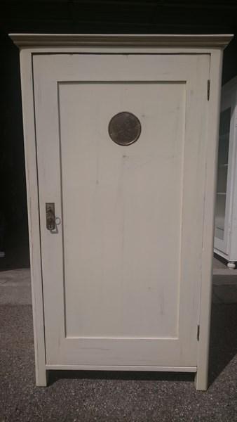 almerl schrank wei shabby chic landhausm bel antik. Black Bedroom Furniture Sets. Home Design Ideas