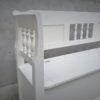 Antike Holzbänke weiss (3)