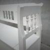 Antike Holzbänke weiss (4)