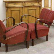Jindrich Halabala chairs (3)