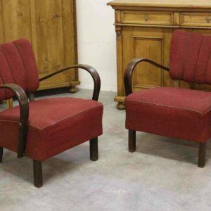 Jindrich Halabala chairs (4)