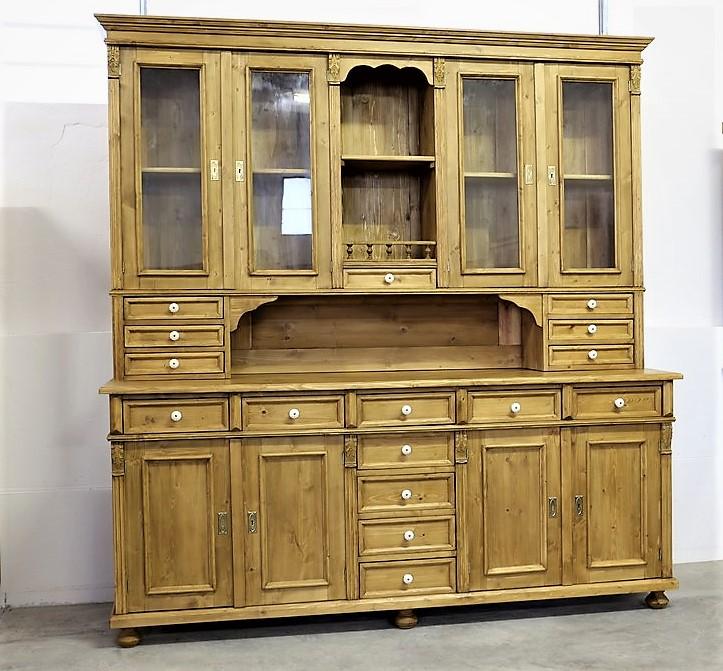 k chenbuffet antik weichholz antik. Black Bedroom Furniture Sets. Home Design Ideas