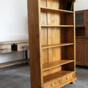 Bucherschrank Antik Möbel (3)