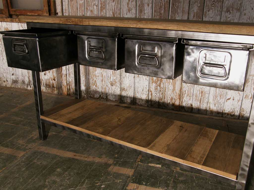 industrial regal antik. Black Bedroom Furniture Sets. Home Design Ideas