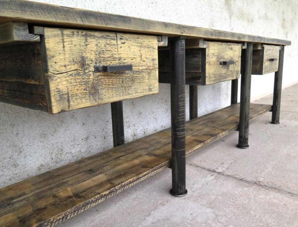 industrial tisch industrial m bel antik. Black Bedroom Furniture Sets. Home Design Ideas