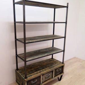 industrial m bel antik. Black Bedroom Furniture Sets. Home Design Ideas