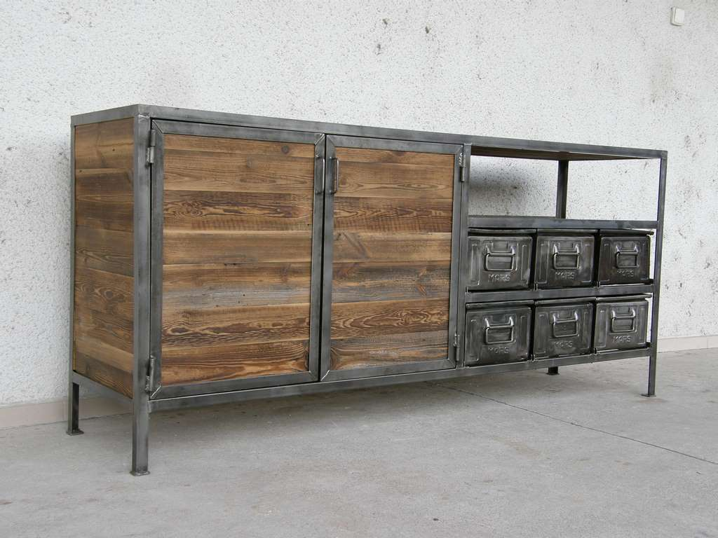 industrial werbank antik. Black Bedroom Furniture Sets. Home Design Ideas