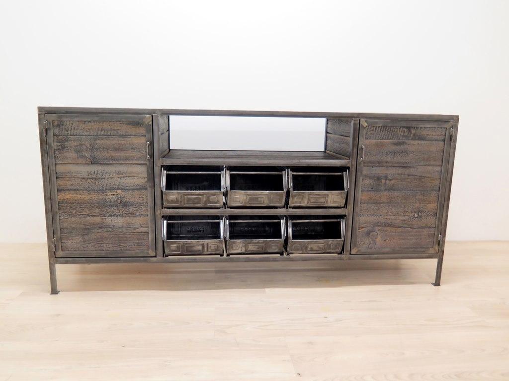 industrial werbank antik. Black Bedroom Furniture Sets. Home Design Ideas