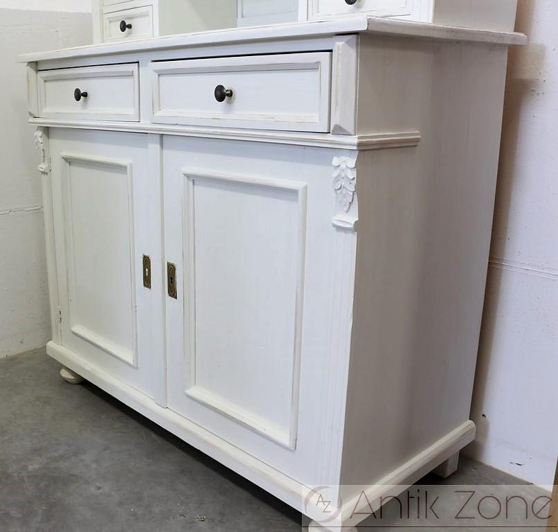 kredenz wei landhausm bel antik. Black Bedroom Furniture Sets. Home Design Ideas