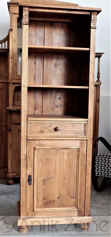b cherregal antik bauernm bel antik. Black Bedroom Furniture Sets. Home Design Ideas