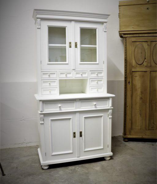 Küchenbuffet, Kredenz, Küchenschrank Weiß | Antik-Zone.at