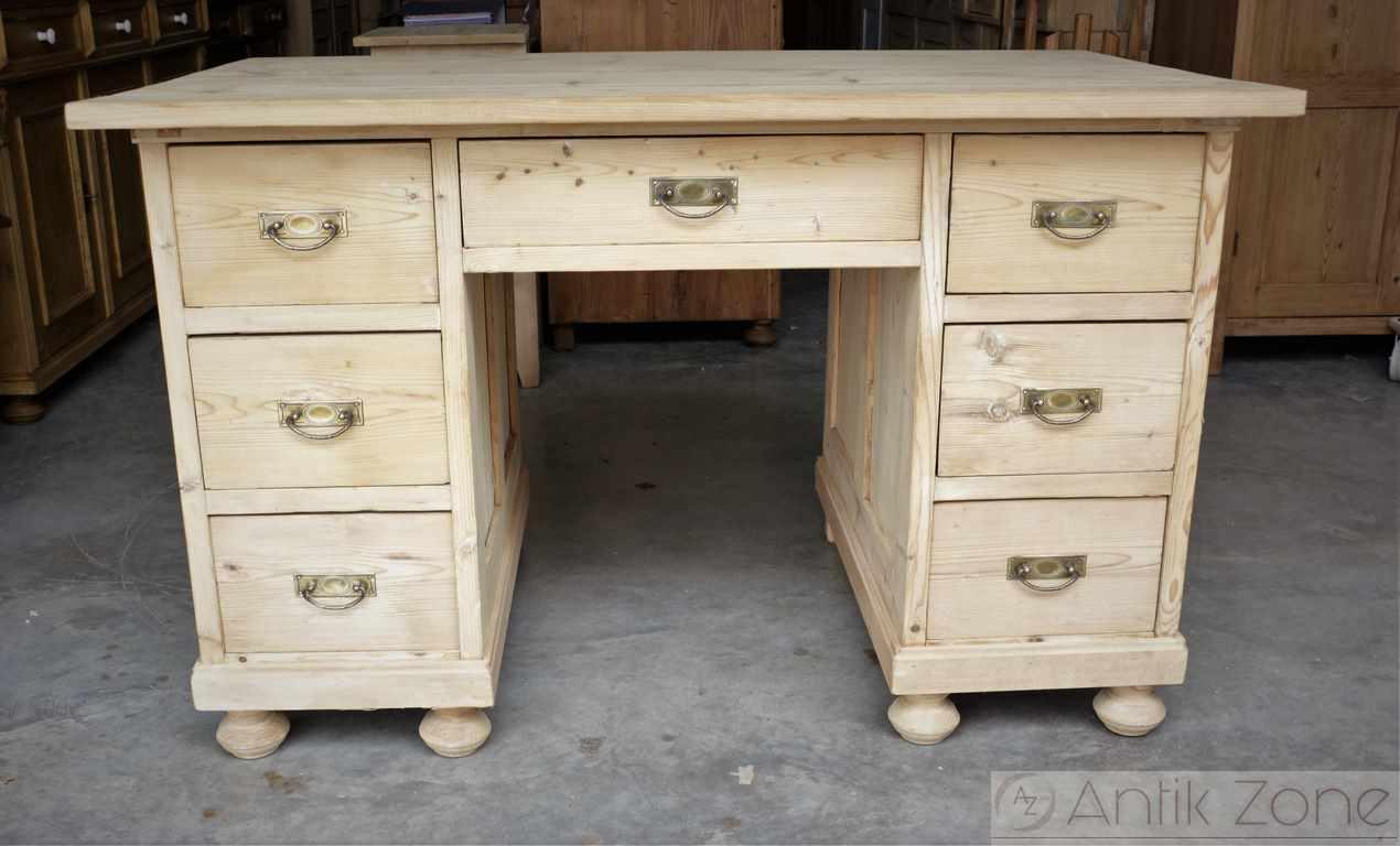 antiker schreibtisch weichholz antik. Black Bedroom Furniture Sets. Home Design Ideas