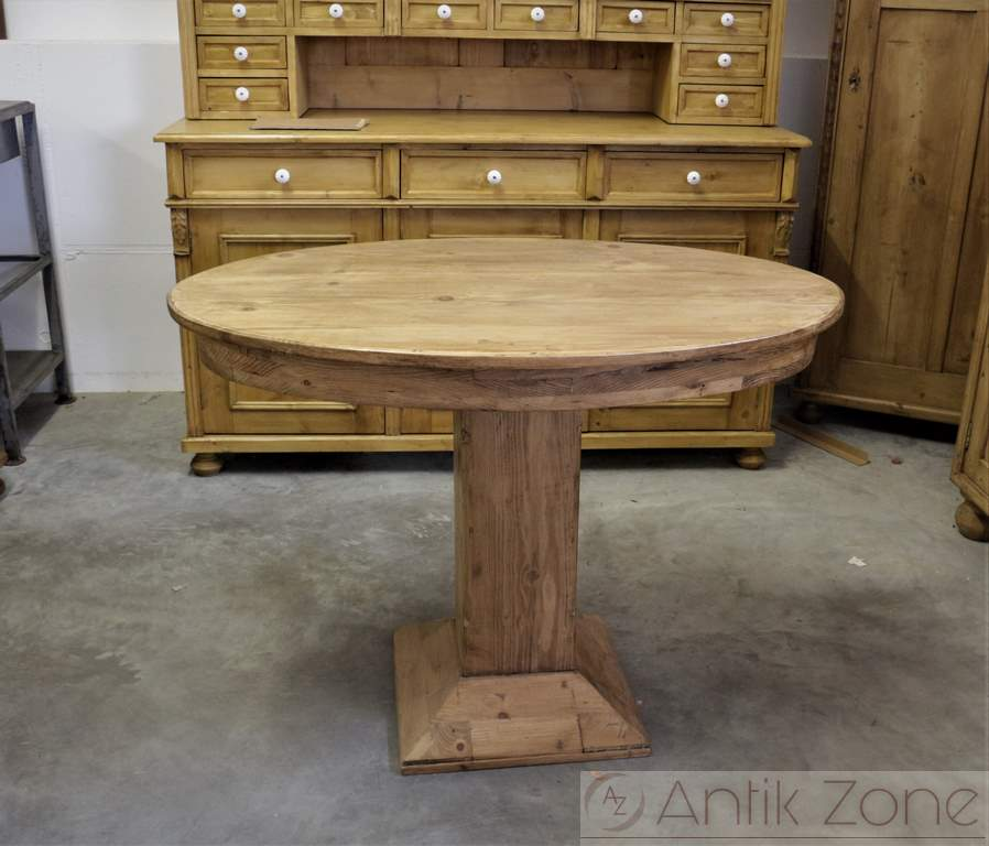 ovaler tisch bauerntisch beistelltisch antik. Black Bedroom Furniture Sets. Home Design Ideas