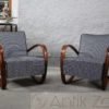 Model H-269 Armchairs by Jindrich Halabala Sessel (2)