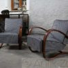 Model H-269 Armchairs by Jindrich Halabala Sessel (6)