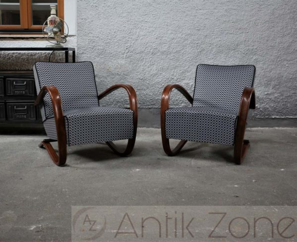 Model H-269 Armchairs by Jindrich Halabala Sessel (7)