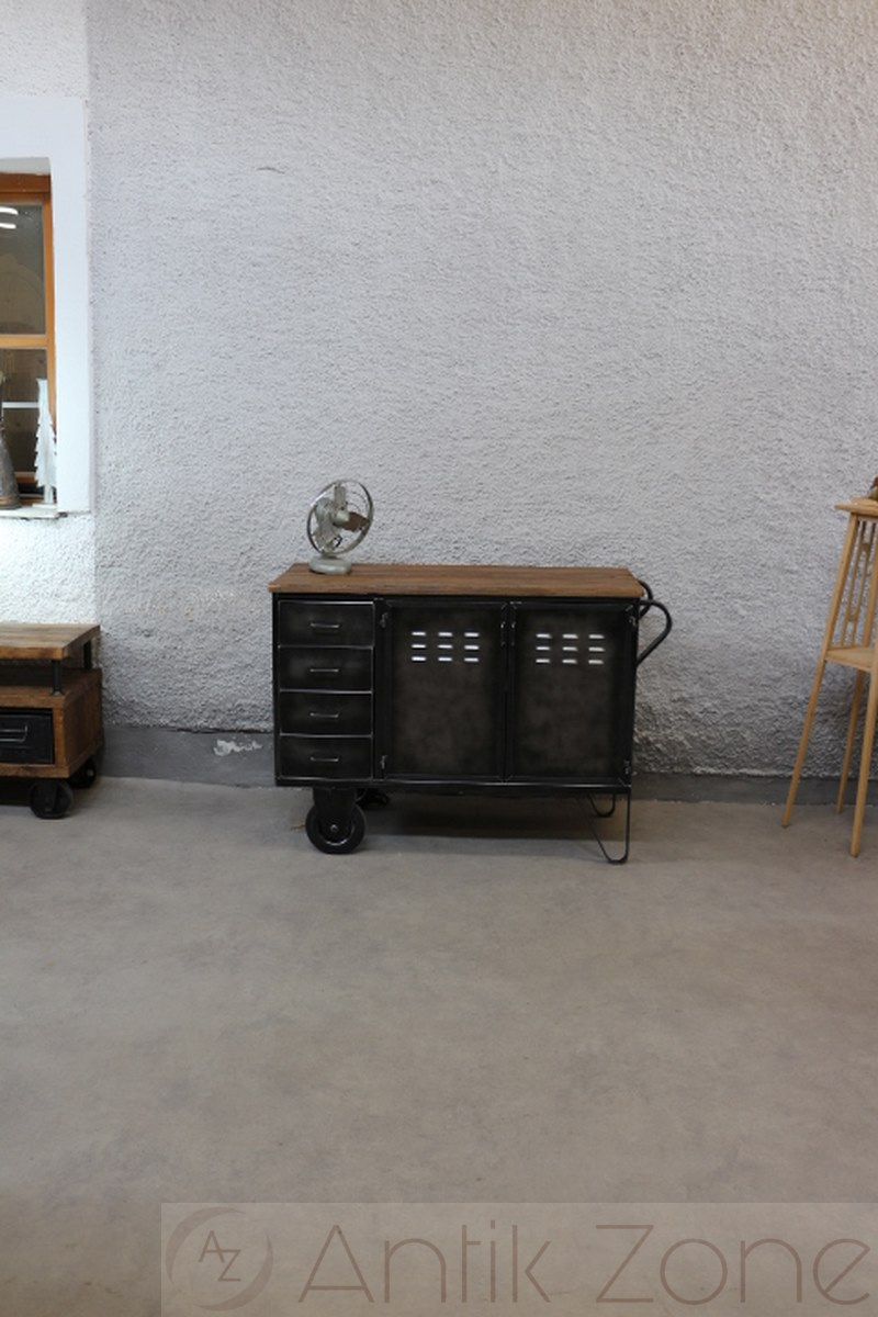 Sideboard Indusriedesign   Antik Zone.at